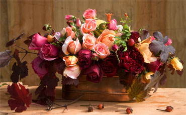 Centerpiece-rose-bouquet