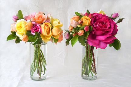 Hand-held-rose-bouquet