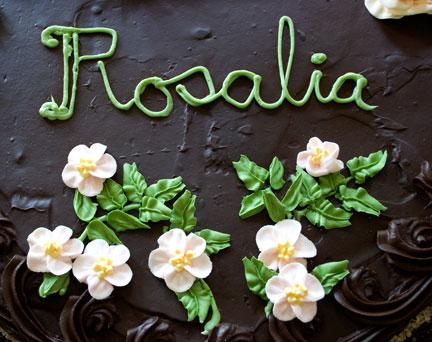 Rosalia-cake