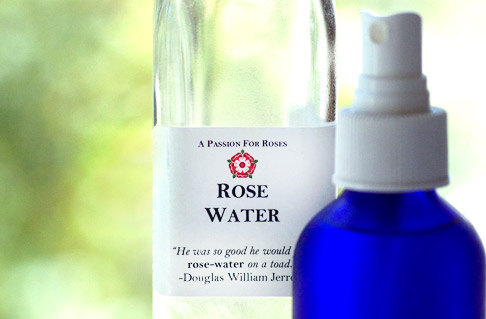 Rose-water-bottles