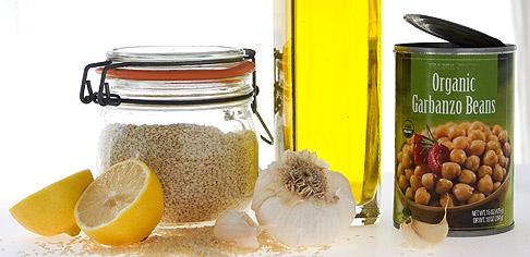 Hummus-ingredients