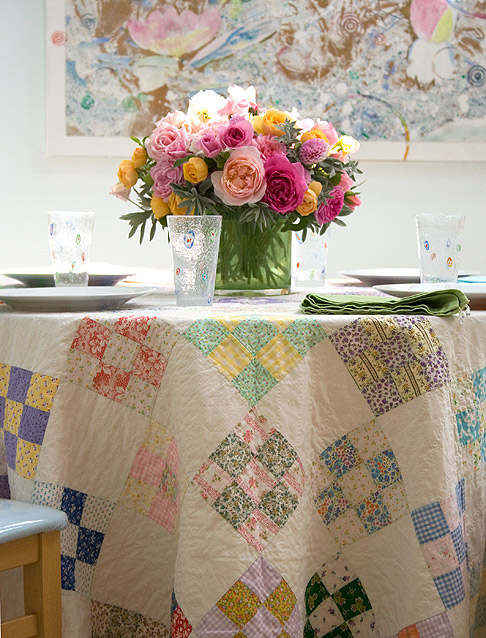 Patchwork-tablecloth
