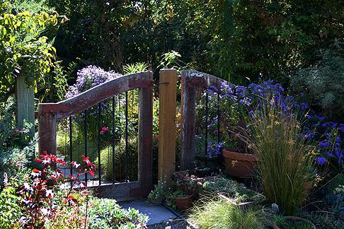 Barbara Worl's front gate