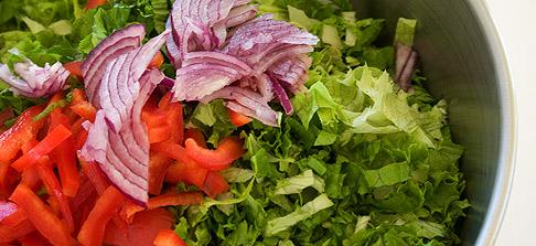 Salad-fixings