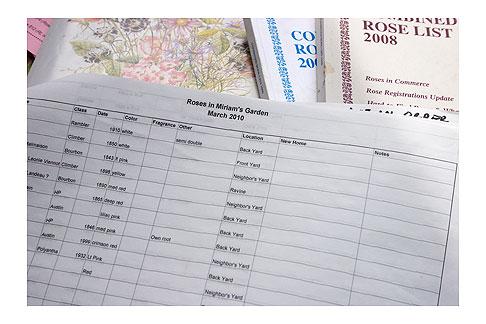Miriam's-Rose-List