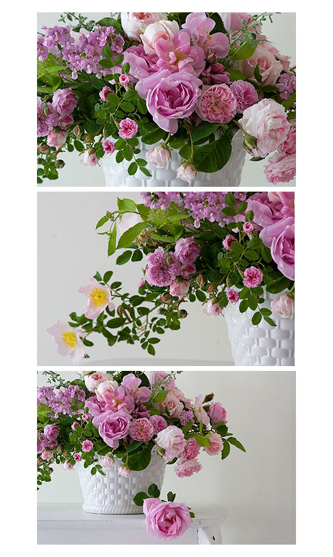 Pink-rose-arrangement