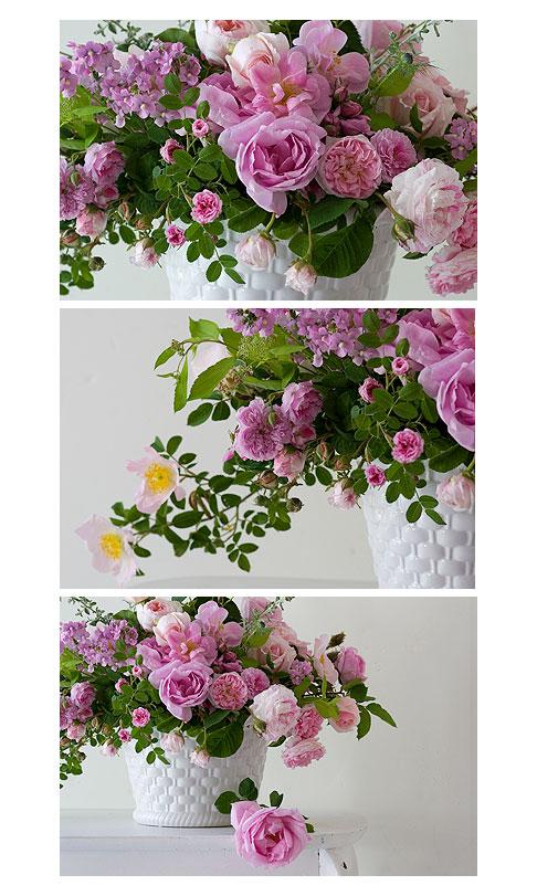 Pink-rose-arrangement