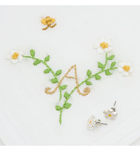 Monogram-A-Hankie