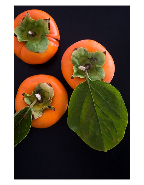 Orange-persimmons