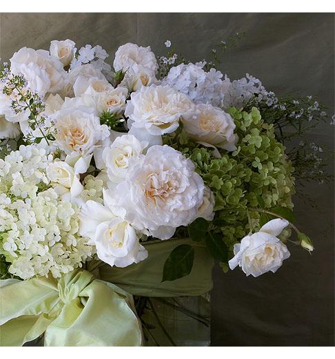 White Wedding Gown Hydrangea: Rhodeshia's Blog: Rosa Clara 39s Wedding Dress Style 101