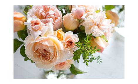 Peach-Rose-Boouquet
