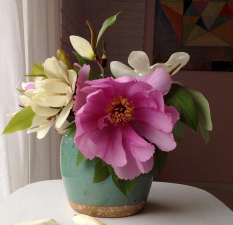 Magnolia Flower Kitchen Decoration