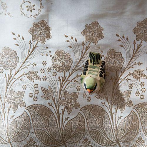 Bird-on-sari
