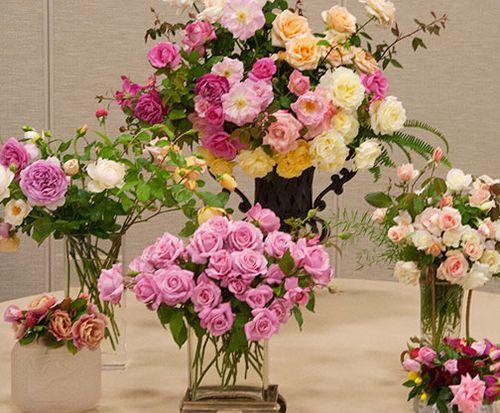 Rose-arrangements