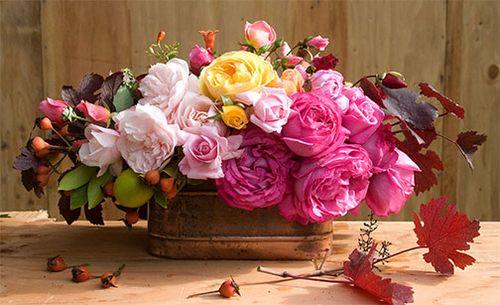 Rose-bouquet-centerpiece