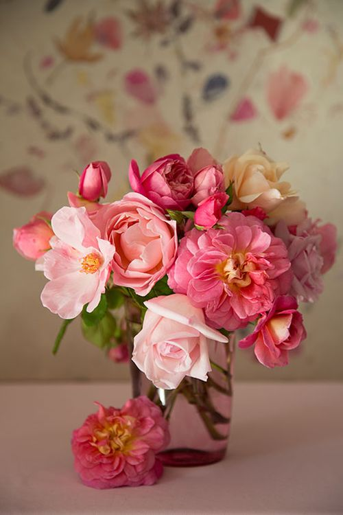 Old-roses-in-pink-glass