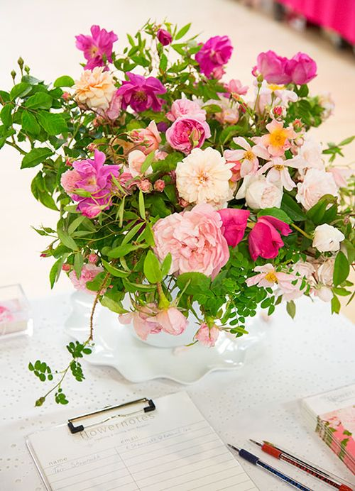 Flowernotes-table
