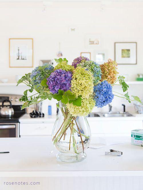 Hydraangea-bouquet