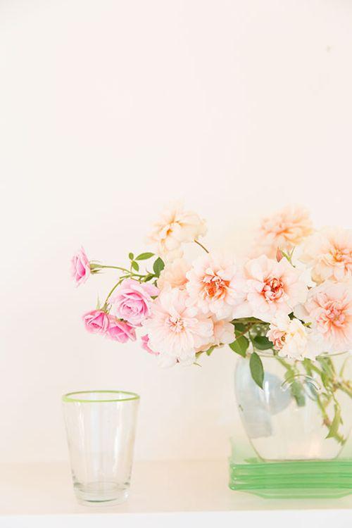 Peach-pink-roses
