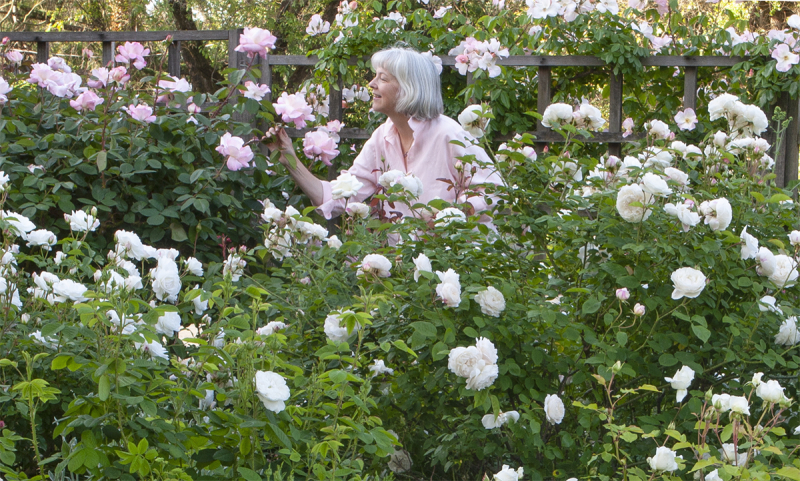 Carolyn in garden_blog