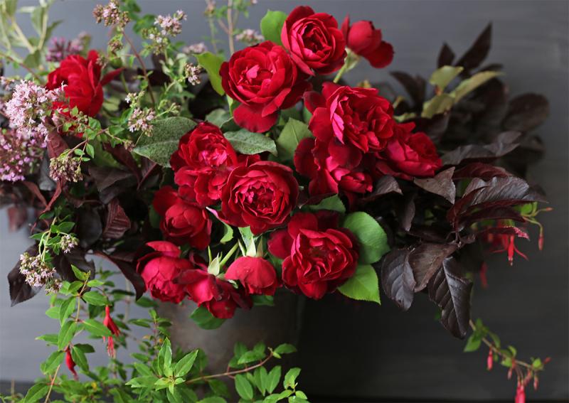 Barcelona rose arrangement
