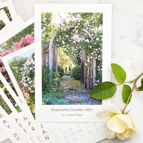Rosenotes Garden Calendar 2021